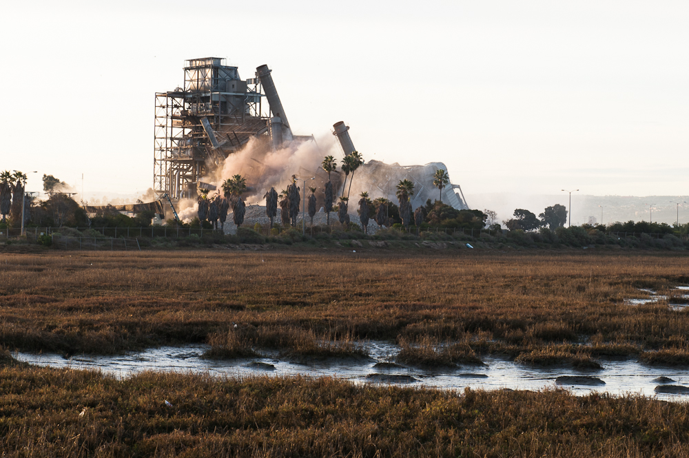 South Bay Power Plant Implosion February 2013
