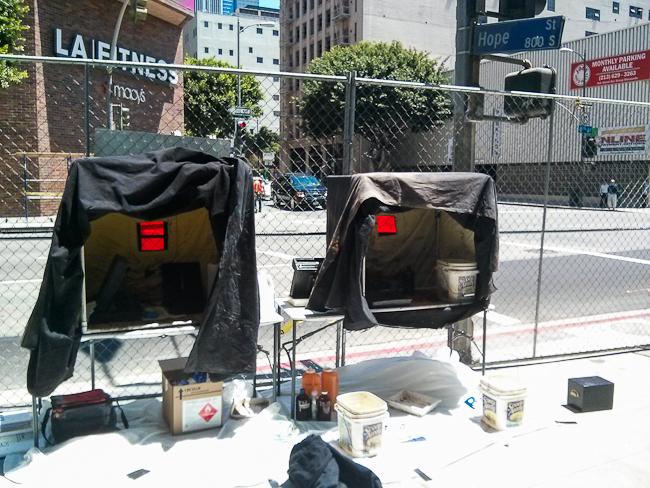 two darkbox setup