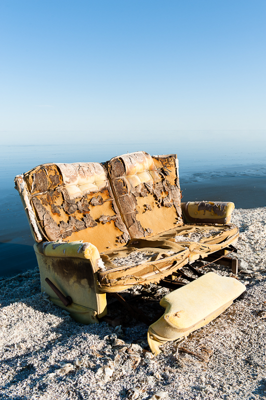 Salton Sea Love Seat